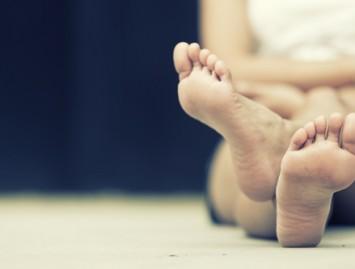 Kojų tinimas žiemą – būna ir taip