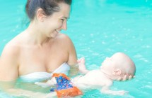 Kūdikių plaukimas – gamtos dovanota savybė