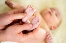 Masažas – puikus būdas nuraminti savo kūdikį