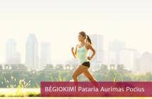 Kaip pradėti bėgioti? Pirmosios bėgimo treniruotės