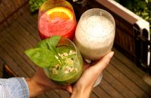 Sveiki ir gaivūs žaliavalgiški kokteiliai. Išbandėme!
