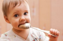 Kūdikio pažintis su skonių įvairove