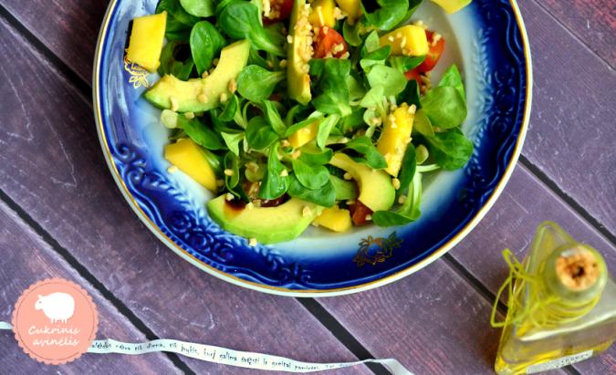 Salotinė sultenė ir du pavasariški receptai!