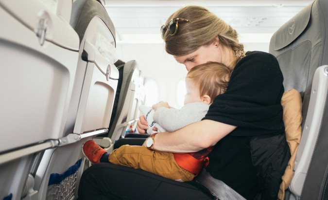 Kelionė su kūdikiu: misija įmanoma