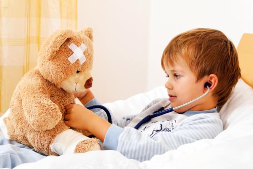 Ką daryti, kai vaikui skauda galvą?