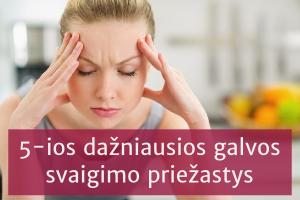 hipertenzijos galvos svaigimo simptomas