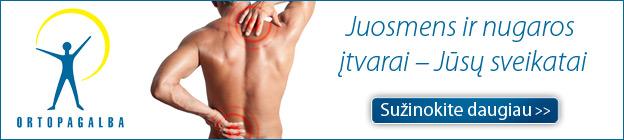 nugaros raumenų hipertenzija