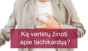 ką gerti sergant tachikardija ir hipertenzija